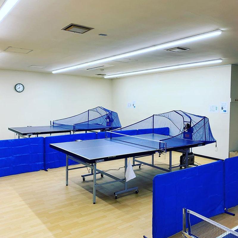 神奈川県横浜市のマシン練習専用卓球場 卓トレ 横浜東神奈川店