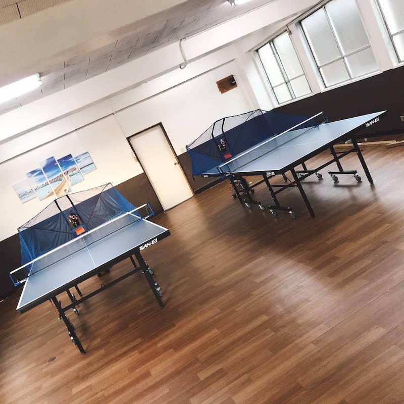 東京都豊島区のマシン練習専用卓球場 卓トレ 目白店
